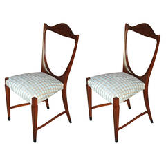 Pair of Paolo Buffa Side Chairs, 1951