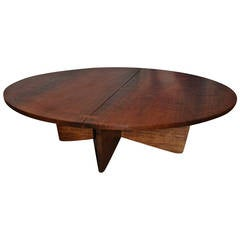 Rare George Nakashima Coffee Table in Indian Laurel, 1969