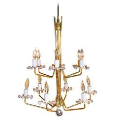 Emil Stejnar for Nikoll Chandelier