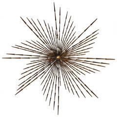 Pinwheel Sunburst Sculpture by Ron Schmidt