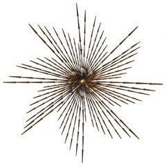 Pinwheel Sunburst Sculpture by Ron Schmidt, 1960s