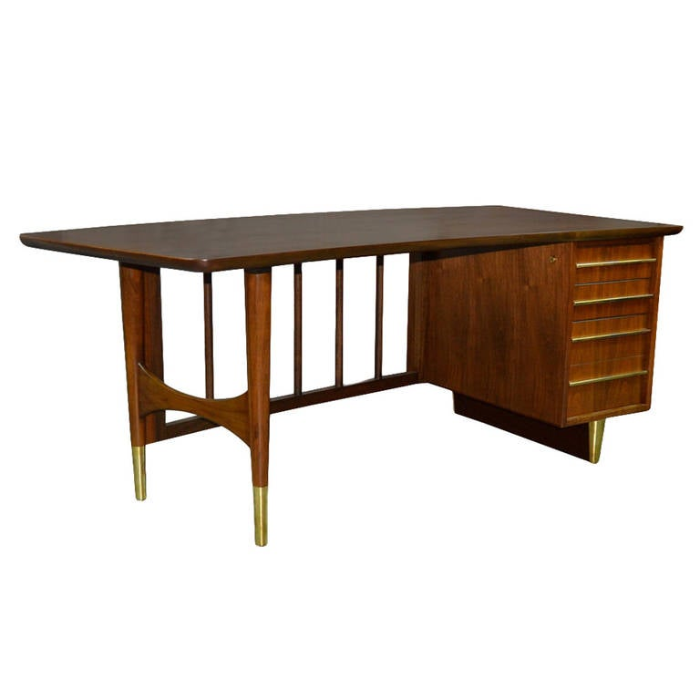 Executive Desk by Omann Jun For Sale
