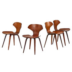 Set of Four Side Chairs by George Mulhauser