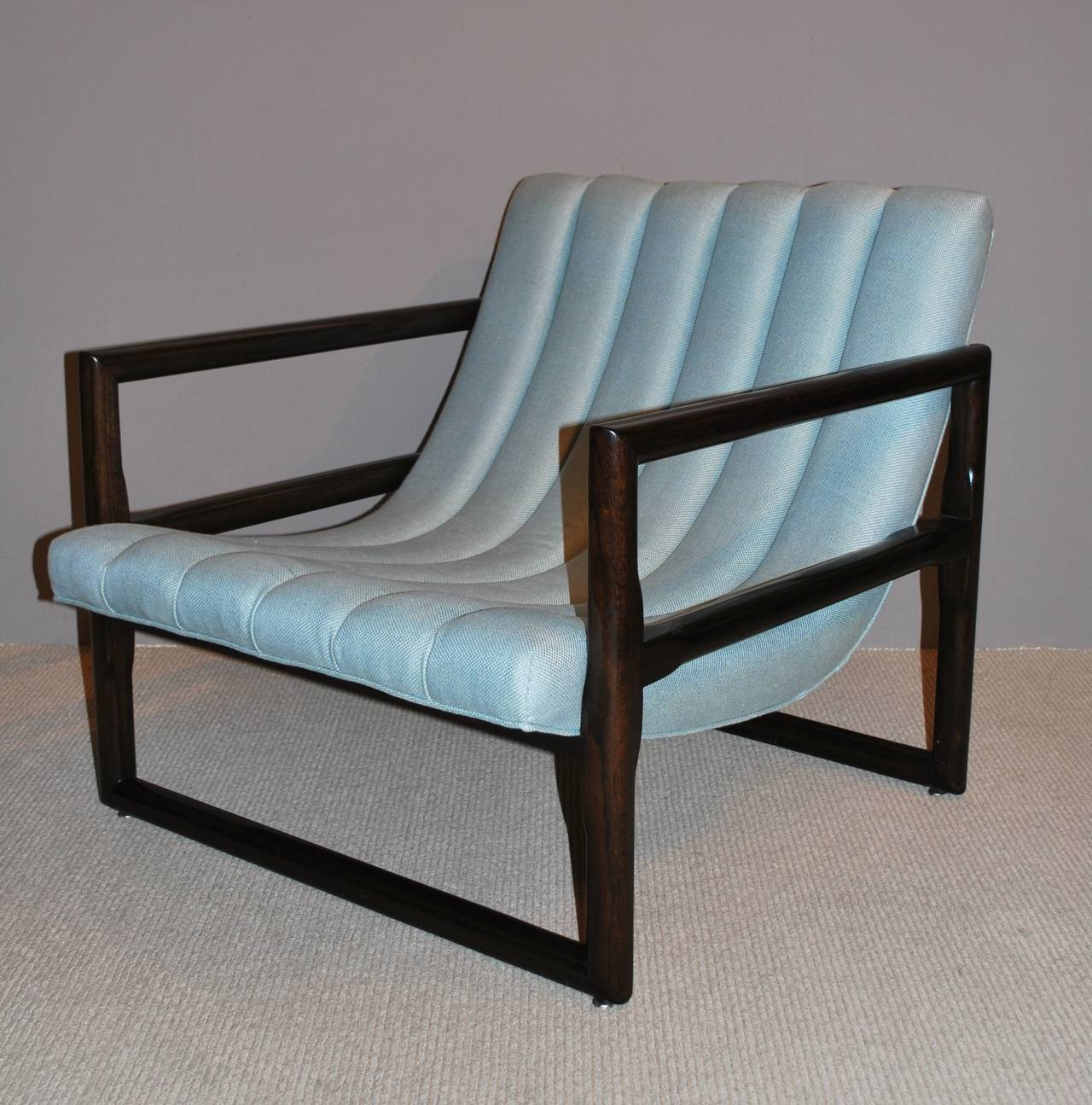 """Pair of Milo Baughman """"Cube"""" Lounge Chairs 5"""