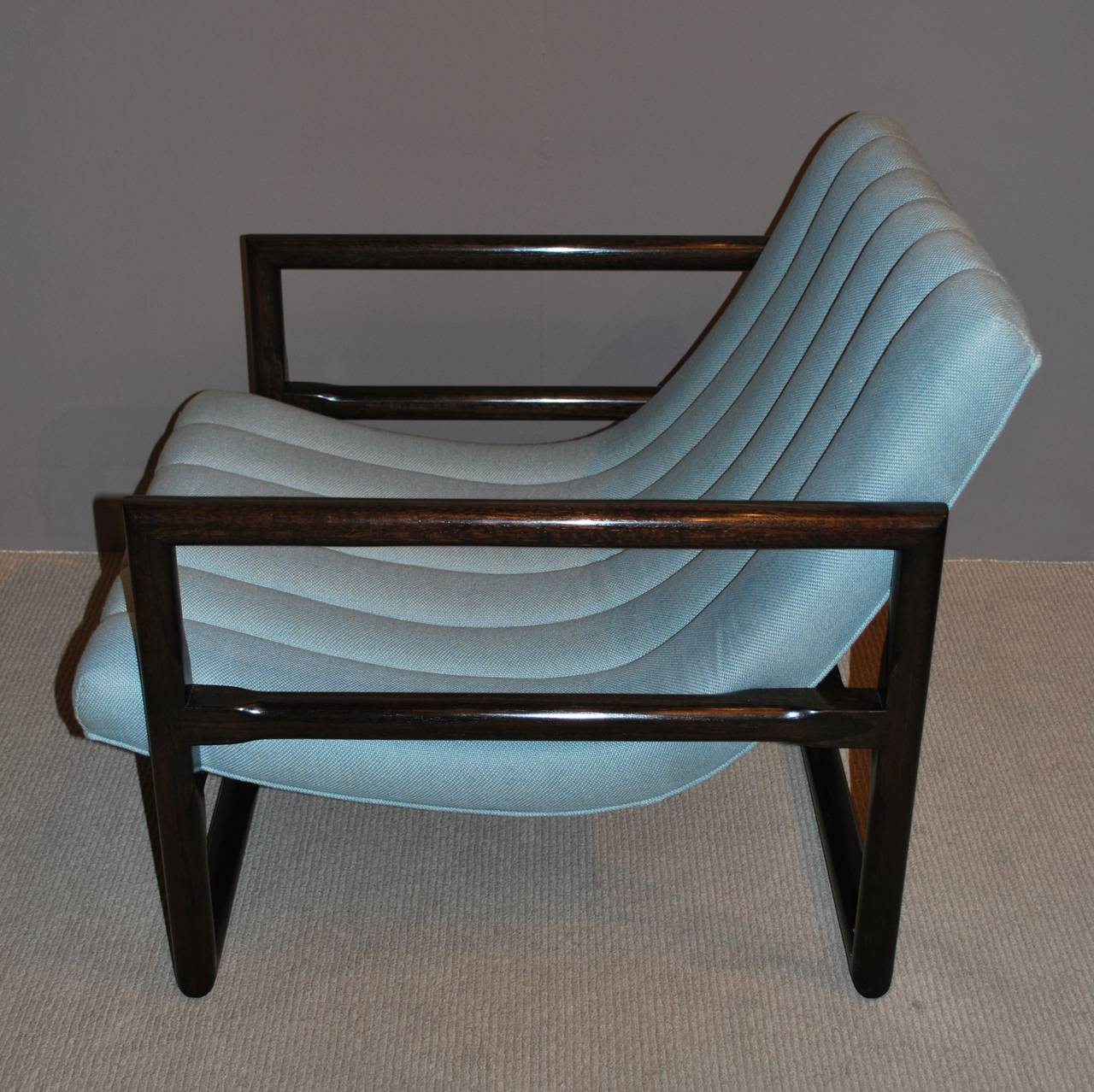 """Pair of Milo Baughman """"Cube"""" Lounge Chairs 6"""