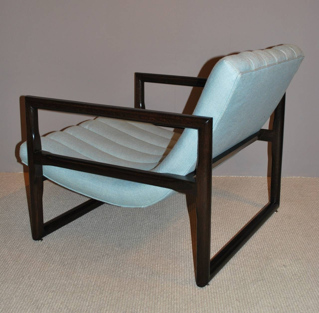 """Pair of Milo Baughman """"Cube"""" Lounge Chairs 8"""