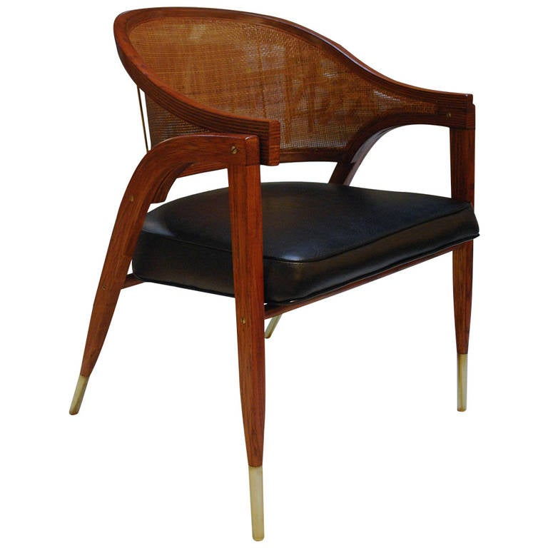 Iconic edward wormley a frame desk chair at 1stdibs - Edward wormley chairs ...