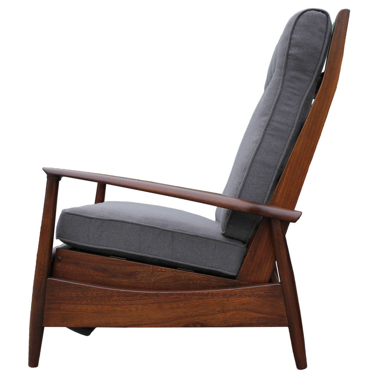 Scandinavian reclining lounge chair at 1stdibs - Scandinavian chair ...