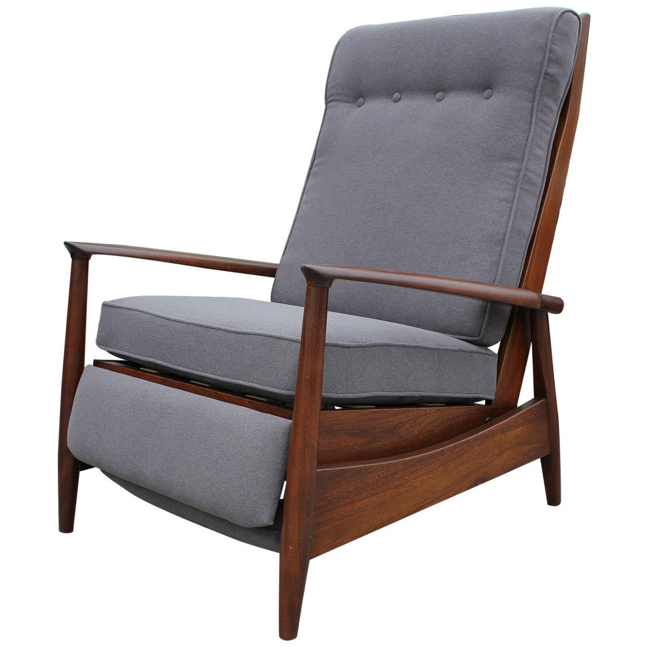 Scandinavian reclining lounge chair - Scandinavian chair ...