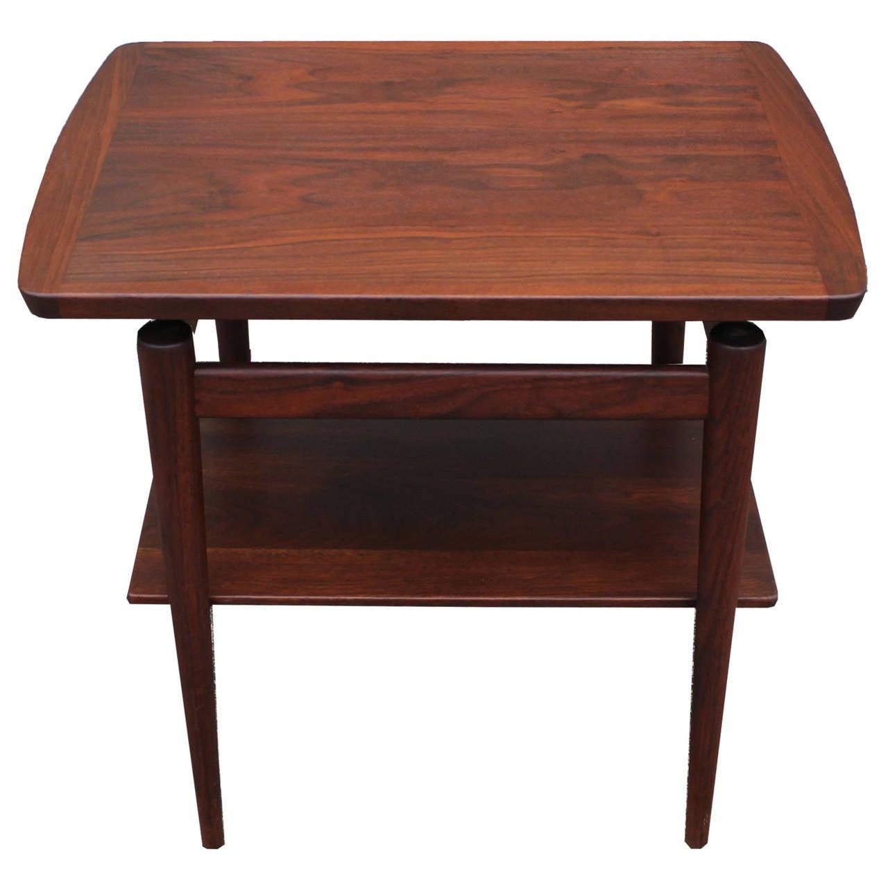Jens risom floating bench for sale at 1stdibs - Rare Jens Risom Side Table 2