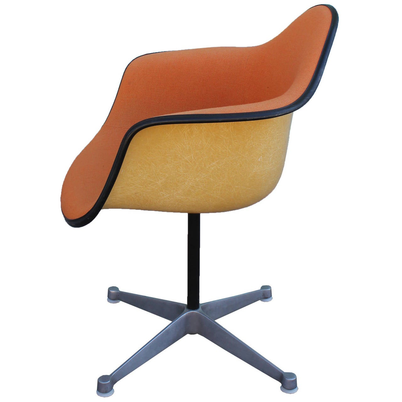 Pair of herman miller eames swivel bucket chairs at 1stdibs - Herman miller chair eames ...
