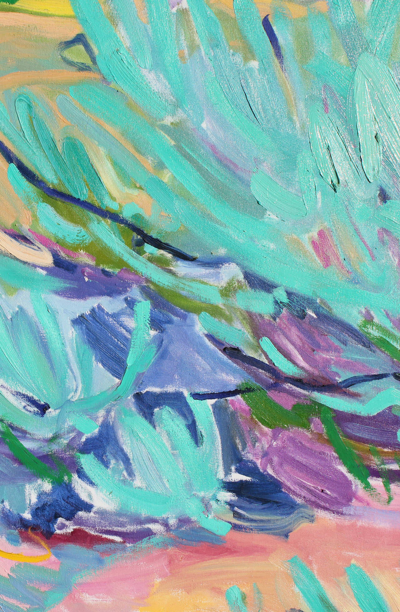 Bold Abstract Landscape Painting by Lillia Frantin image 3