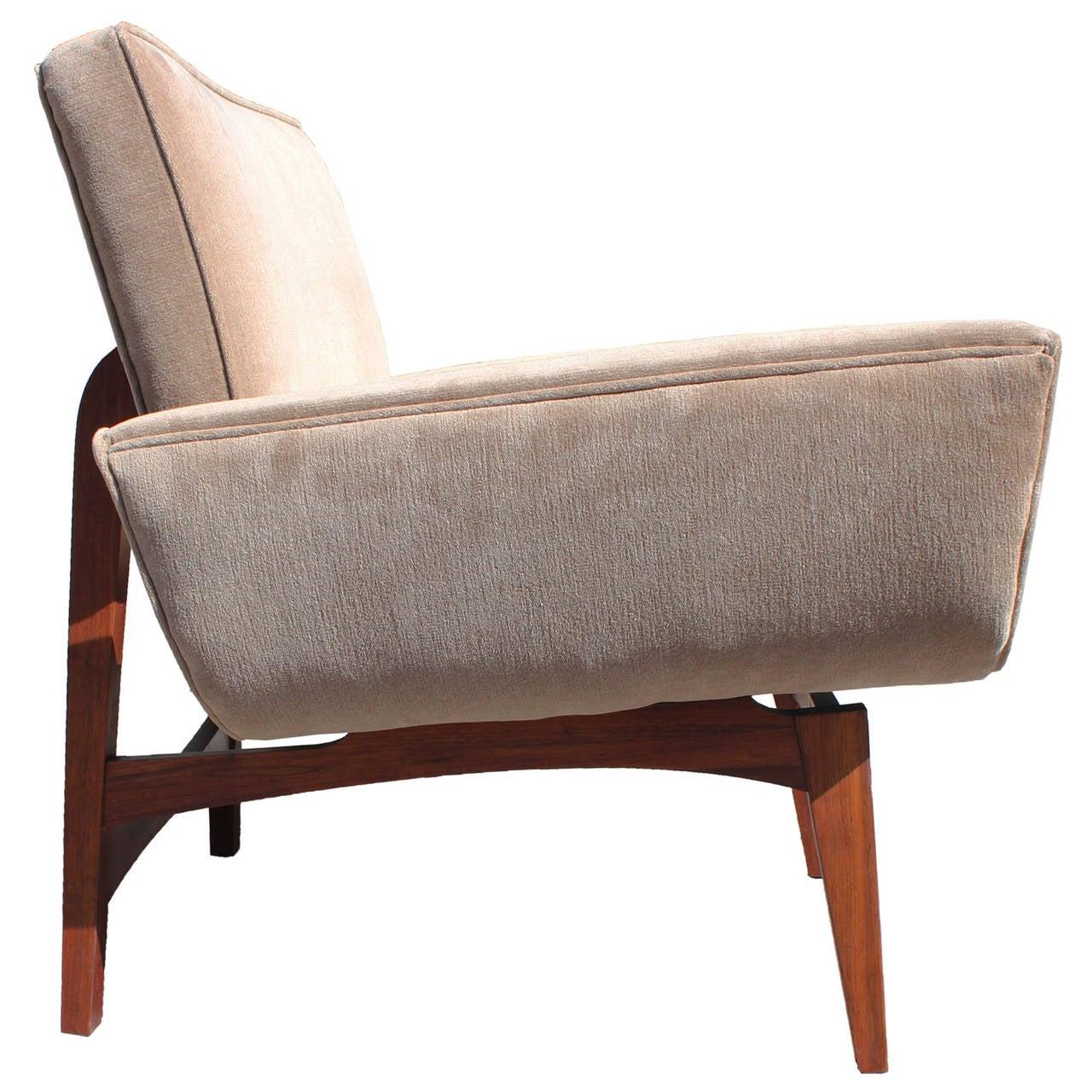 Stunning Sculptural Gondola Lounge Chairs At 1stdibs