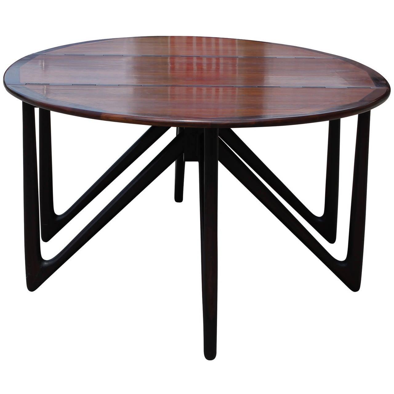 Kurt Ostervig Gateleg Rosewood Dining Table at 1stdibs : kurtostervigtable3l from www.1stdibs.com size 1280 x 1280 jpeg 84kB