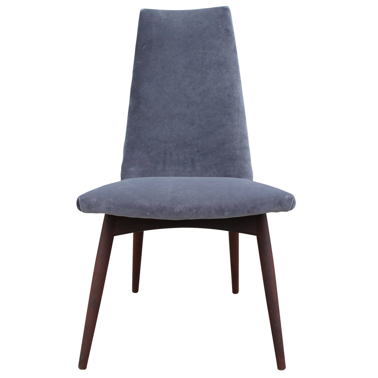 Set Of Four Adrian Pearsall Dining Chairs At 1stdibs