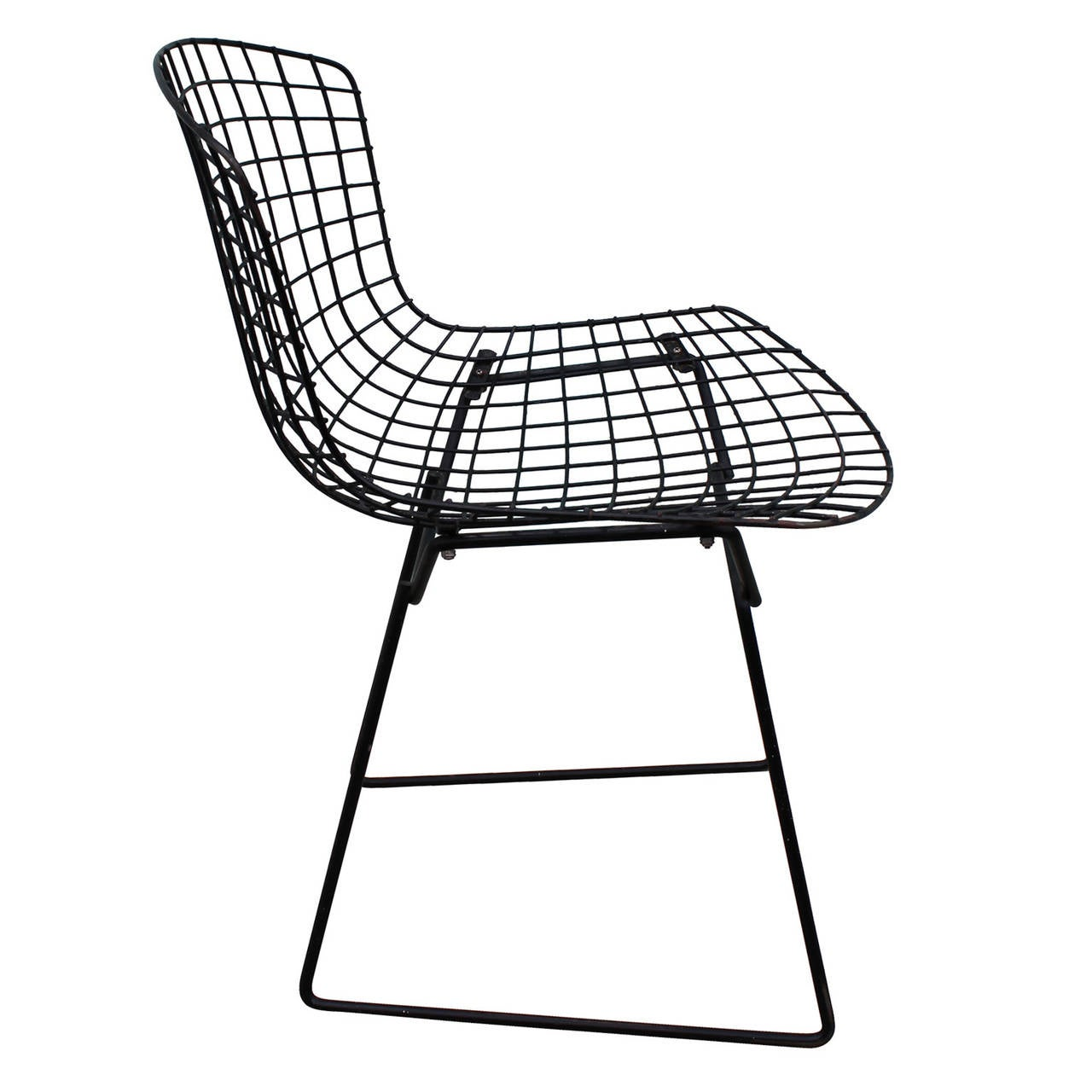 Bertoia Wire Chair set of six bertoia wire dining chairs at 1stdibs