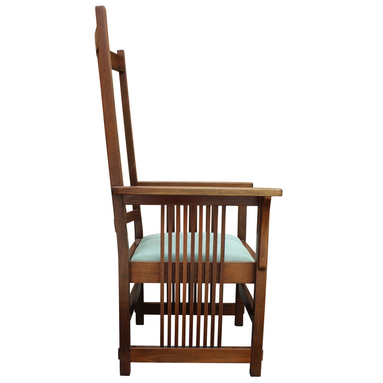 frank lloyd wright style armchair at 1stdibs frank lloyd wright inspired small house plans