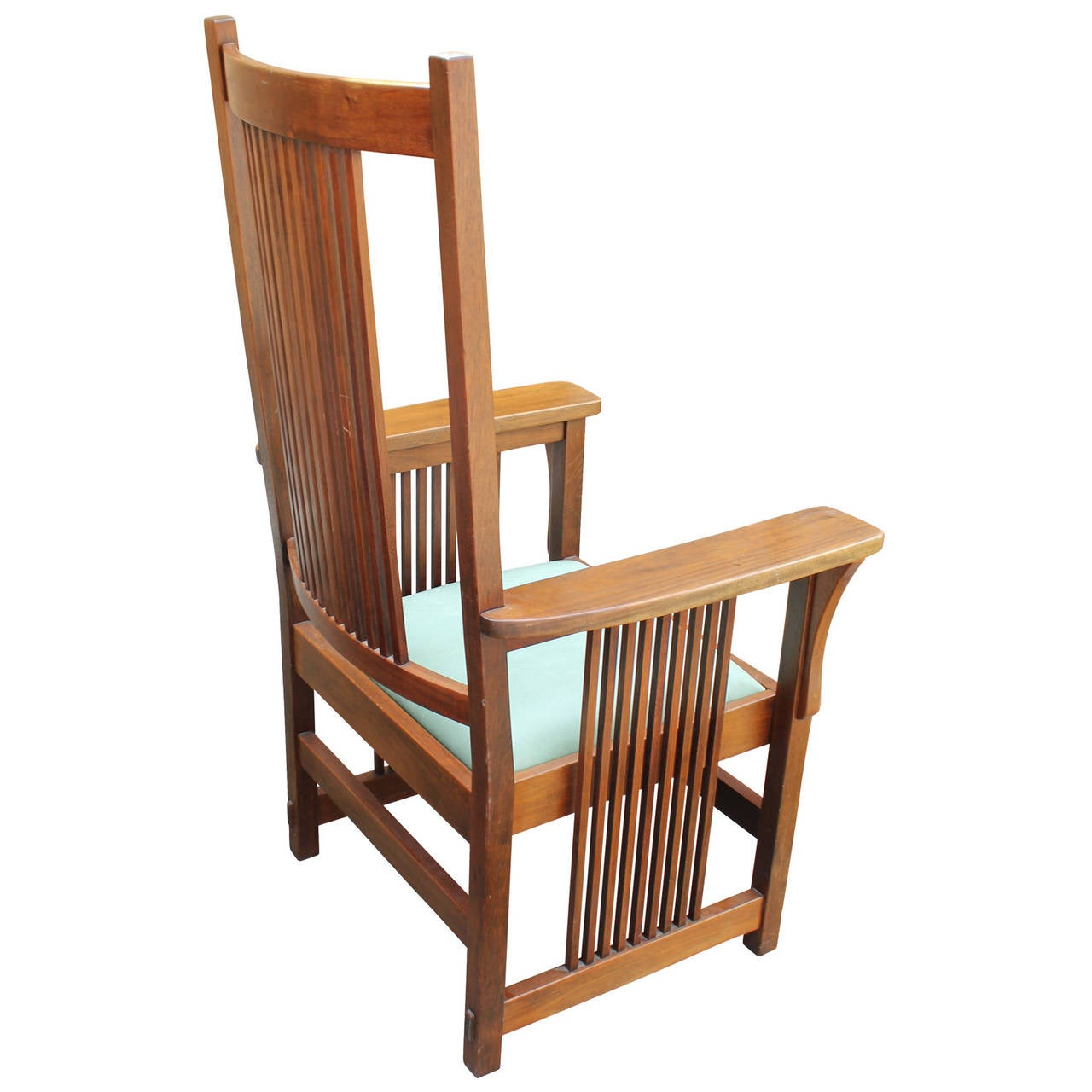 frank lloyd wright style armchair at 1stdibs in l a a wright house at auction huffpost