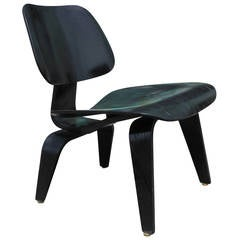 Early Black Eames LCW Chair