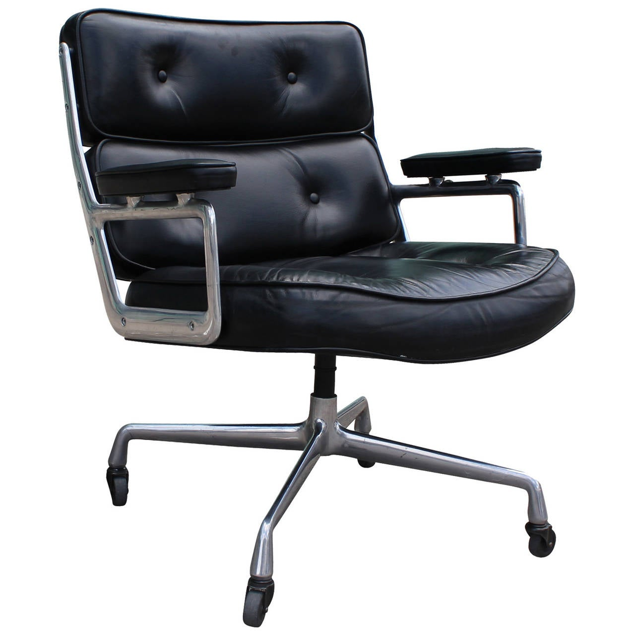 Great Mid Century Modern Herman Miller Eames Time Life Lounge Chair For