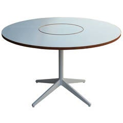 George Nelson for Herman Miller Table with Lazy Susan