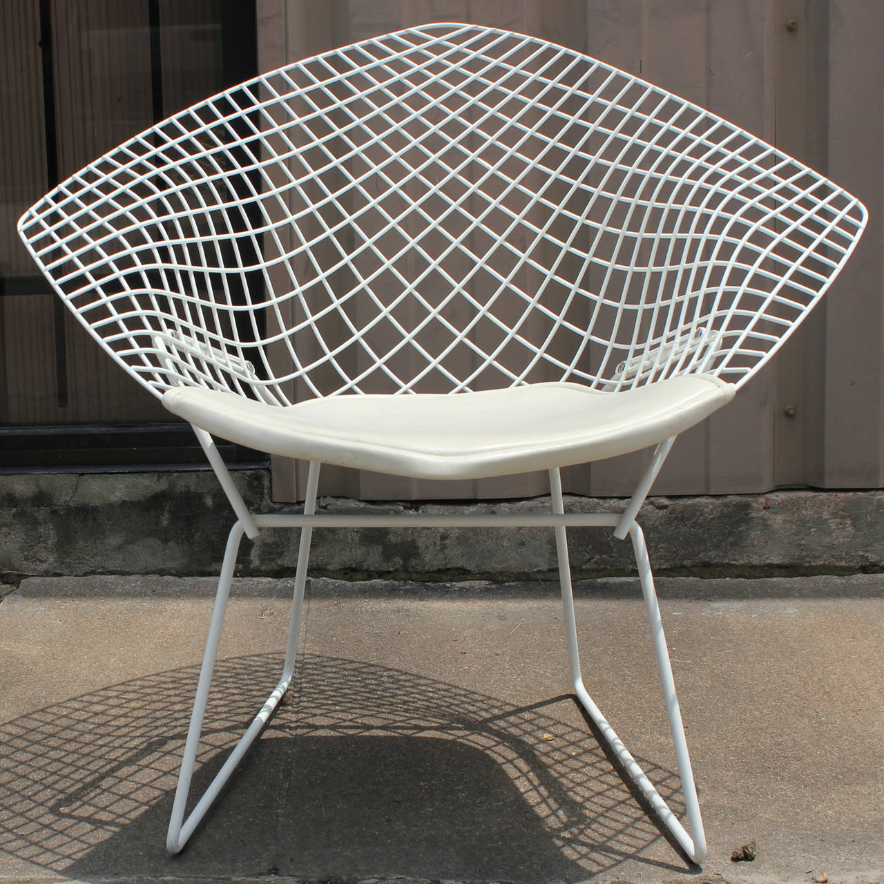 Bertoia diamond chair white - White Diamond Chair By Harry Bertoia For Knoll 2
