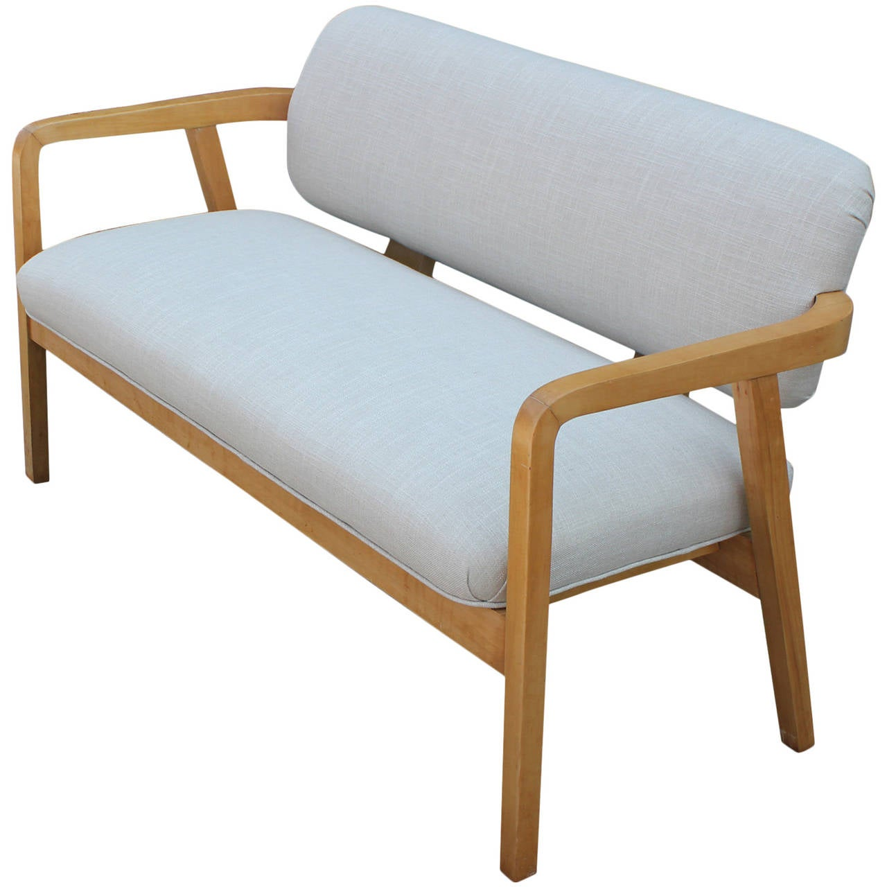 Stunning George Nelson Style Bench Or Settee At 1stdibs