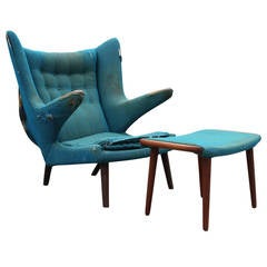 Hans Wegner Papa Bear Chair COM