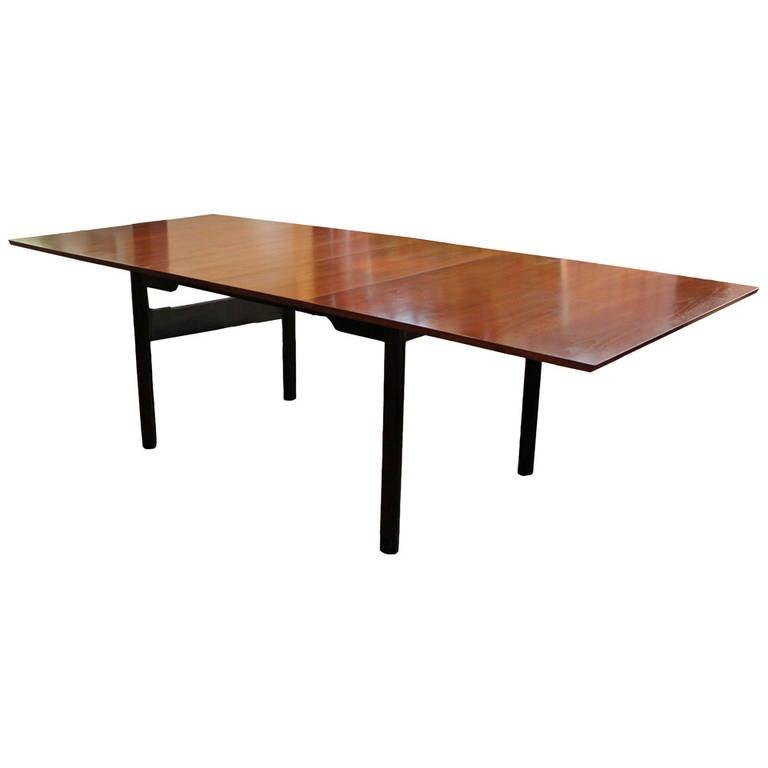 Mid-Century Modern Edward Wormley Walnut Dining Table for Dunbar