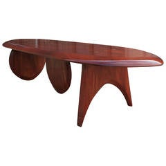 Incredible studio made table by Artist Robert Holsch