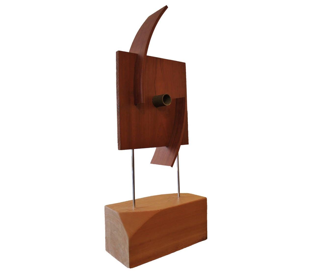 Organic Modern Furniture Organic Modern Wooden Sculpture For Sale At 1stdibs