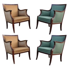 Set of Four Mid-Century Modern Frits Henningsen Chairs