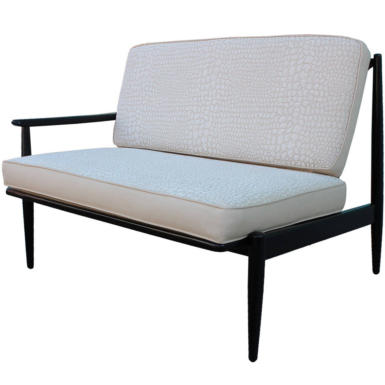 Unique one arm settee at 1stdibs for Settee seating