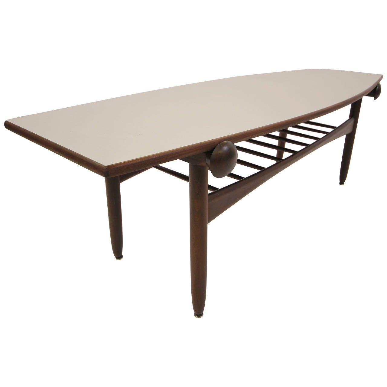 Danish Modern Flip Top Coffee Table In The Manner Of Finn Juhl At 1stdibs