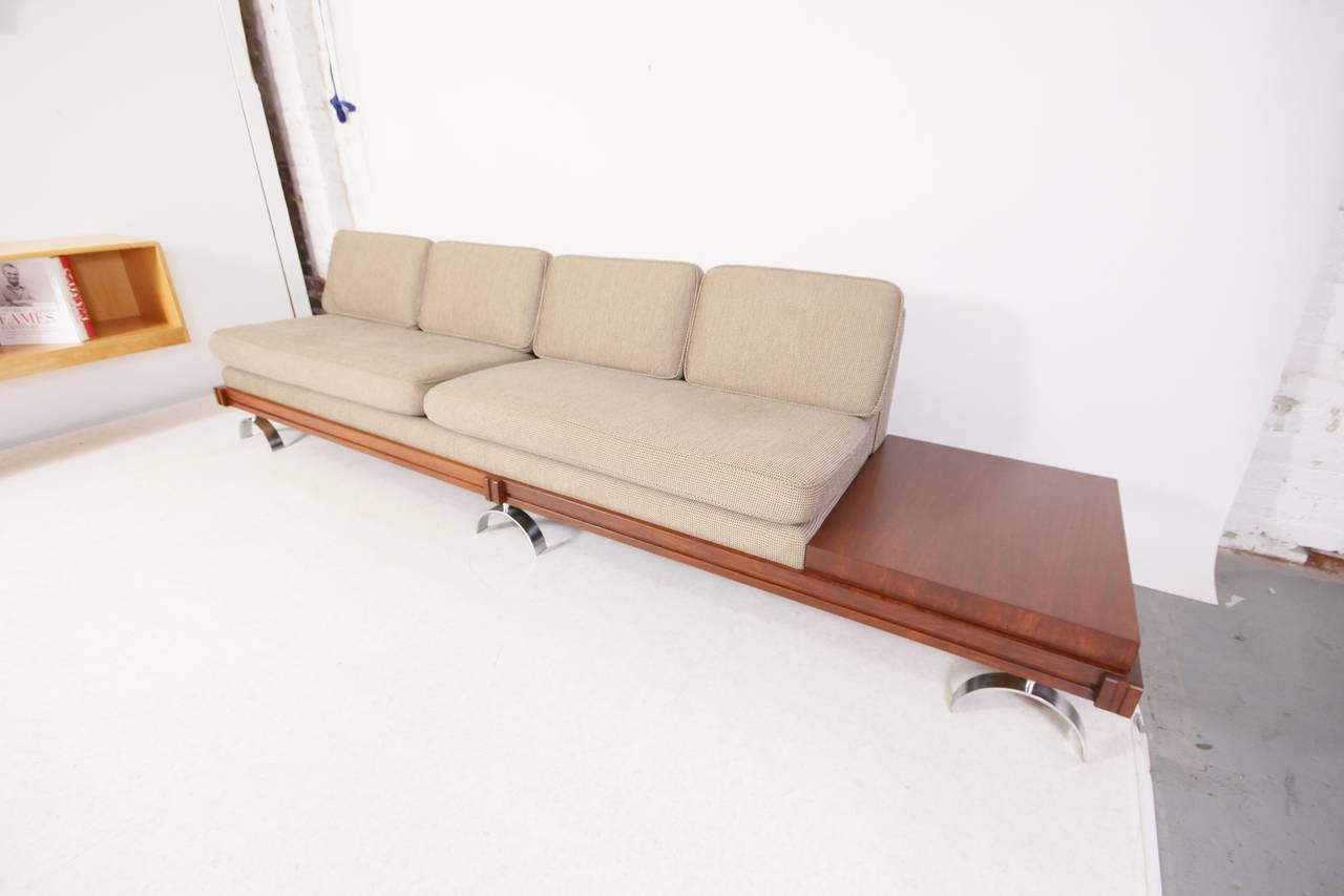 Platform Sofa : Mid-Century Modern Martin Borenstein Platform Sofa at 1stdibs