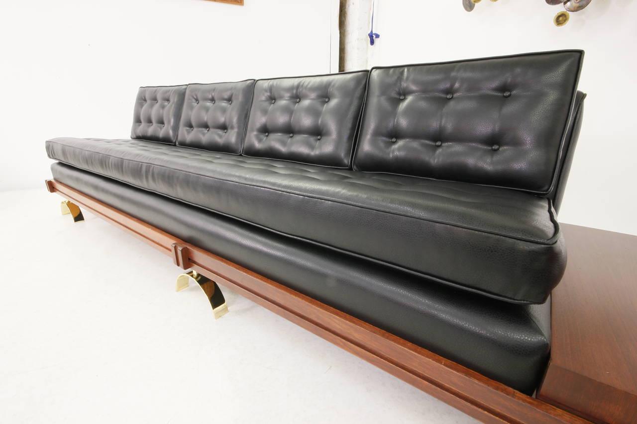 Platform Sofa : Stunning Mid-Century Modern Platform Sofa by Martin Borenstein image 5