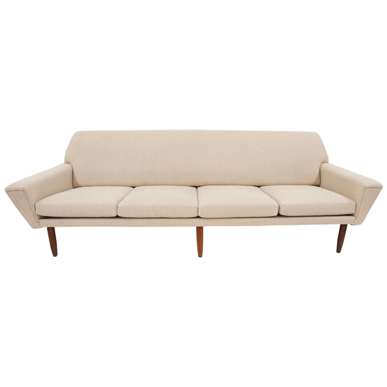 Danish Modern Sofas: Danish Modern Sofa At 1stdibs