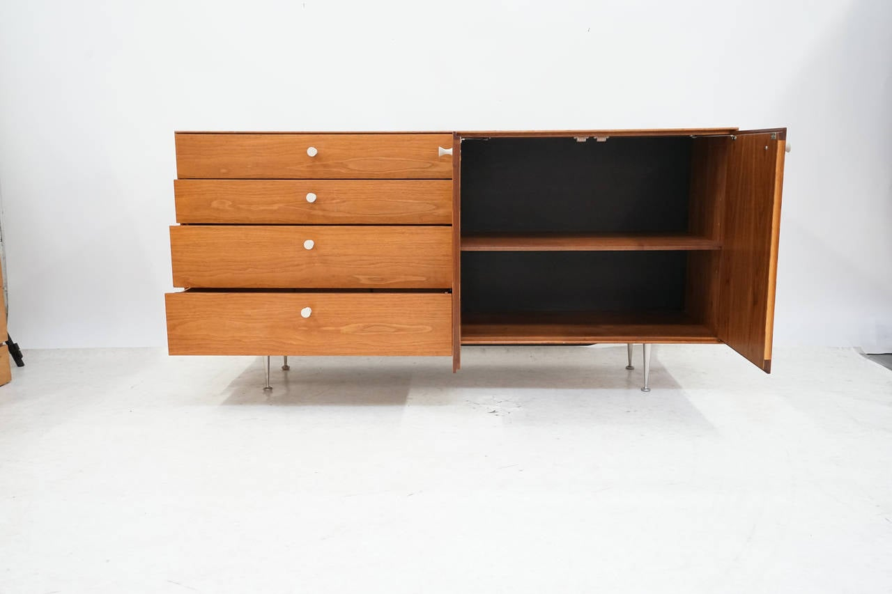 George Nelson Thin Edge Credenza for Herman Miller at 1stdibs