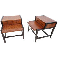 Mid-Century Modern Side Tables by Martinsville
