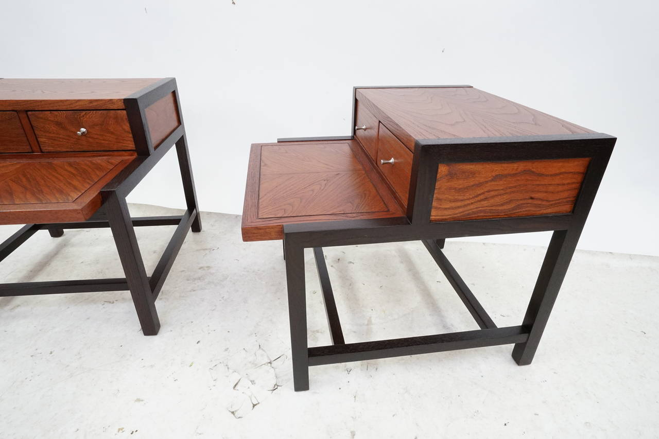 Mid-Century Modern Side Tables by Martinsville at 1stdibs