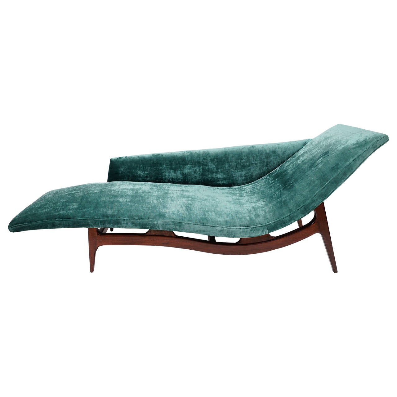 Gorgeous mid century modern chaise lounge at 1stdibs for Century furniture chaise lounge