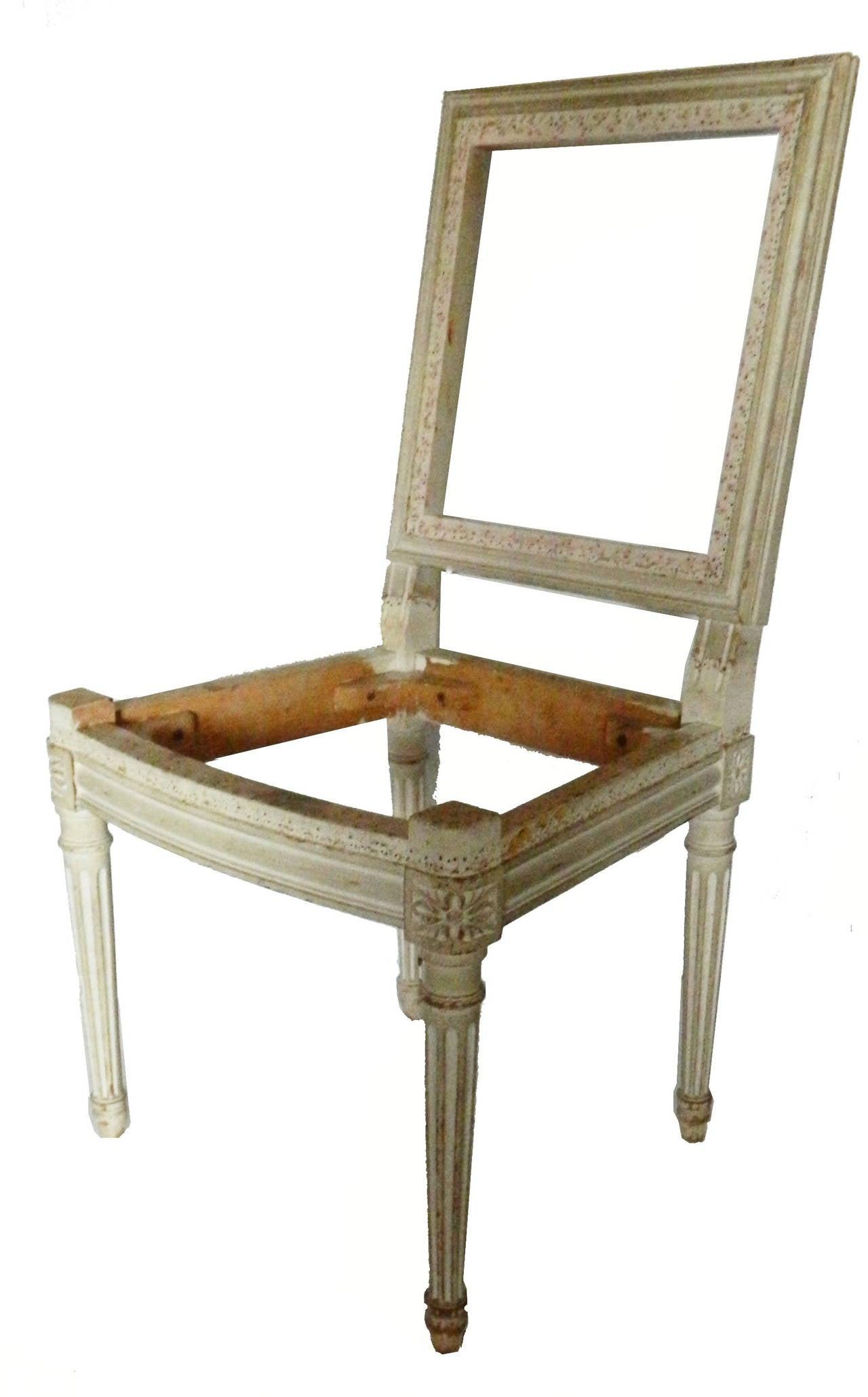 Maison Jansen Set Of 6 Chairs At 1stdibs