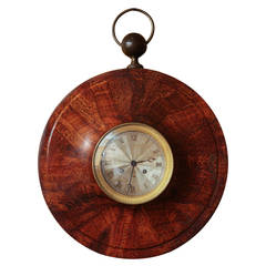 French Directoire Wall Clock with Original Movement