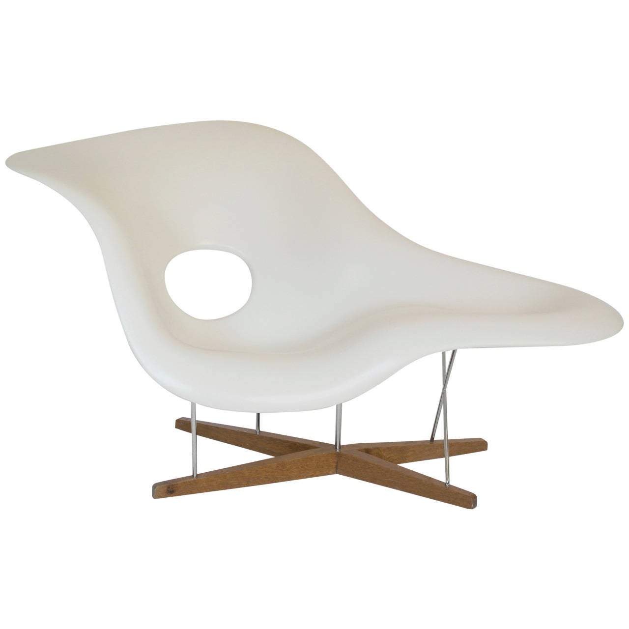 Vitra edition la chaise by charles and ray eames at 1stdibs - Chaise charles et ray eames ...