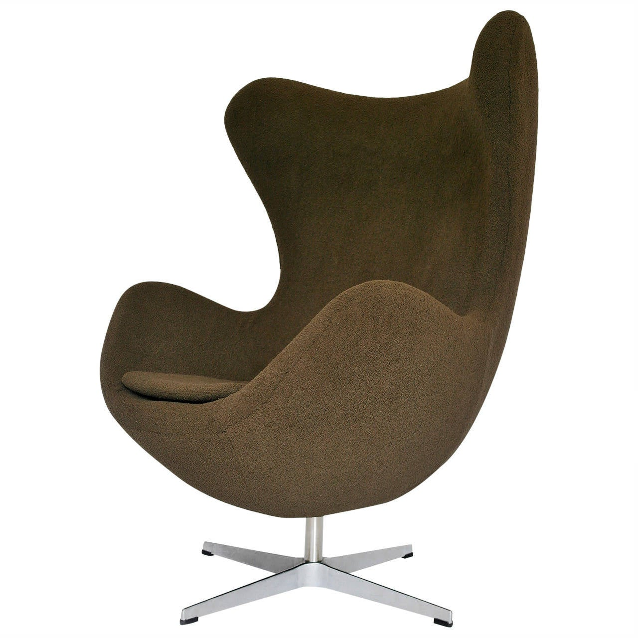 egg chair by arne jacobsen fritz hansen style at 1stdibs. Black Bedroom Furniture Sets. Home Design Ideas