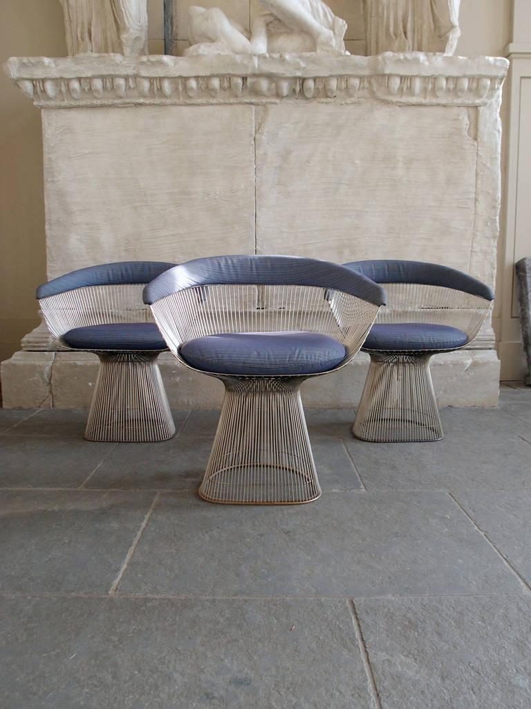 Rare Set Of Eight Knoll Warren Platner 1966 Dining Chair