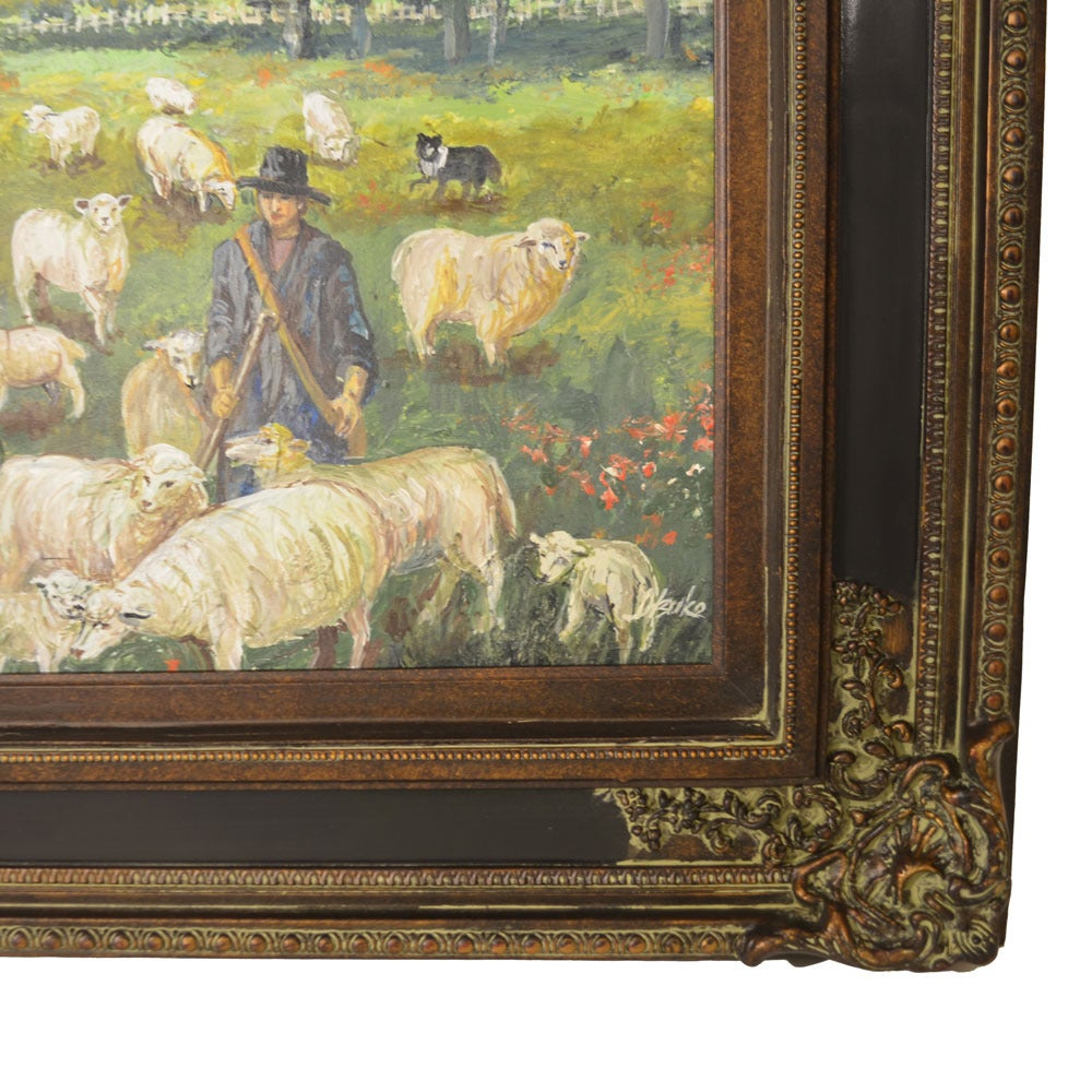 Original oil on canvas entitled