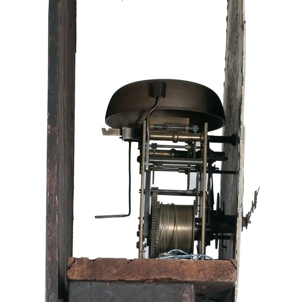 Sheraton Grandfather Clock 4
