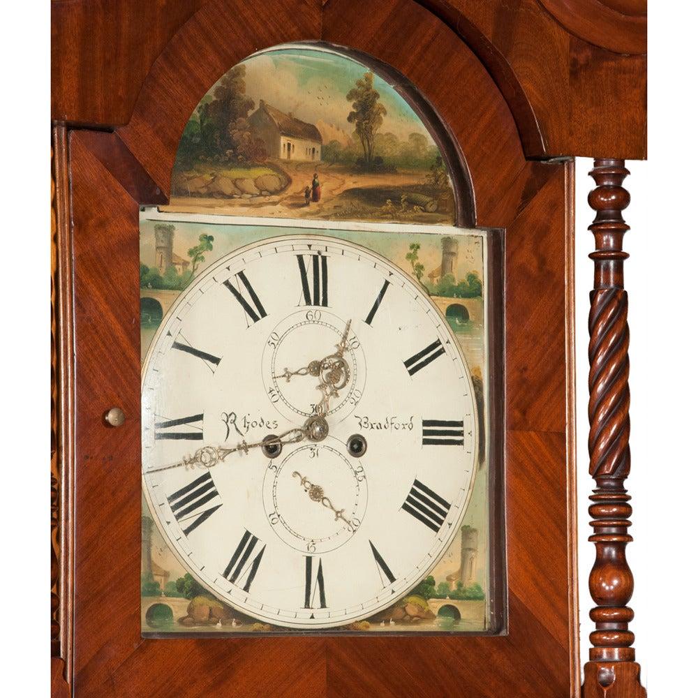 Sheraton Grandfather Clock 1