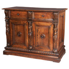 Italian Walnut Buffet, circa 1780